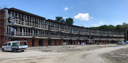 Der aktuelle Baufortschritt im Auenland
